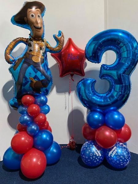 Toy Story Number Balloon Set